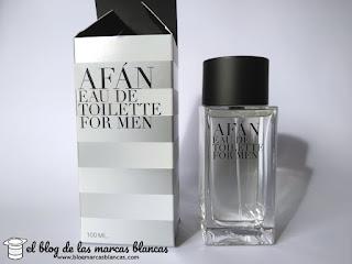 Afán eau de toilette for men nos recuerda muy mucho a Egoiste Platinum de Chanel pero cuesta una décima parte. Exclusivo en Mercadona.