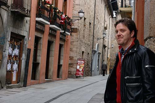 Carlos García Ruiz, autor de Hotel desierto