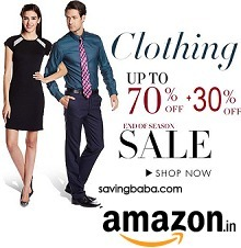 Clothing 35% off or more + Buy 2 Get 30% off – Amazon