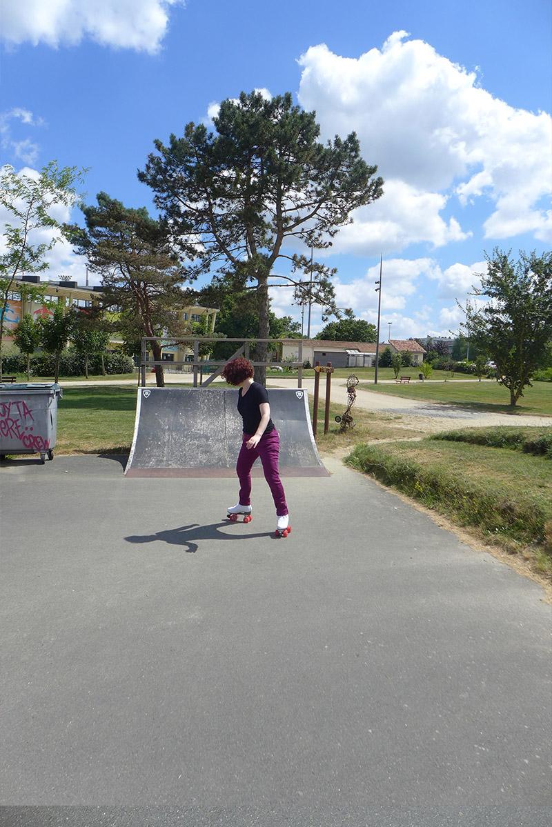 patinage sur roller quad artistique