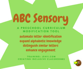 ABC Sensory (sample the complete system on TPT)