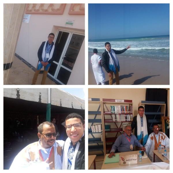 التلميذ الشاعر عبد الرحمن حدوش من ثانوية محمد الخامس للتعليم الأصيل يتوج بطلا للمسابقة الوطنية الأولى للشعر التلاميذي