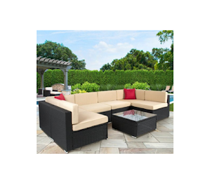 Outdoor Furniture, Outdoor Wicker Furniture, Patio Sectionals, Sectional Couch Set, Sectional Sofa Set, Top 3 Wicker Patio Sectionals, Top Wicker Patio Sectionals, Wicker Patio Sectionals,