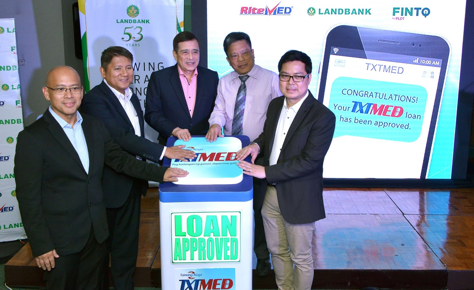 Medicine Loaning Service, TXTMED Launched By RiteMed, LANDBANK, And FINTQ!
