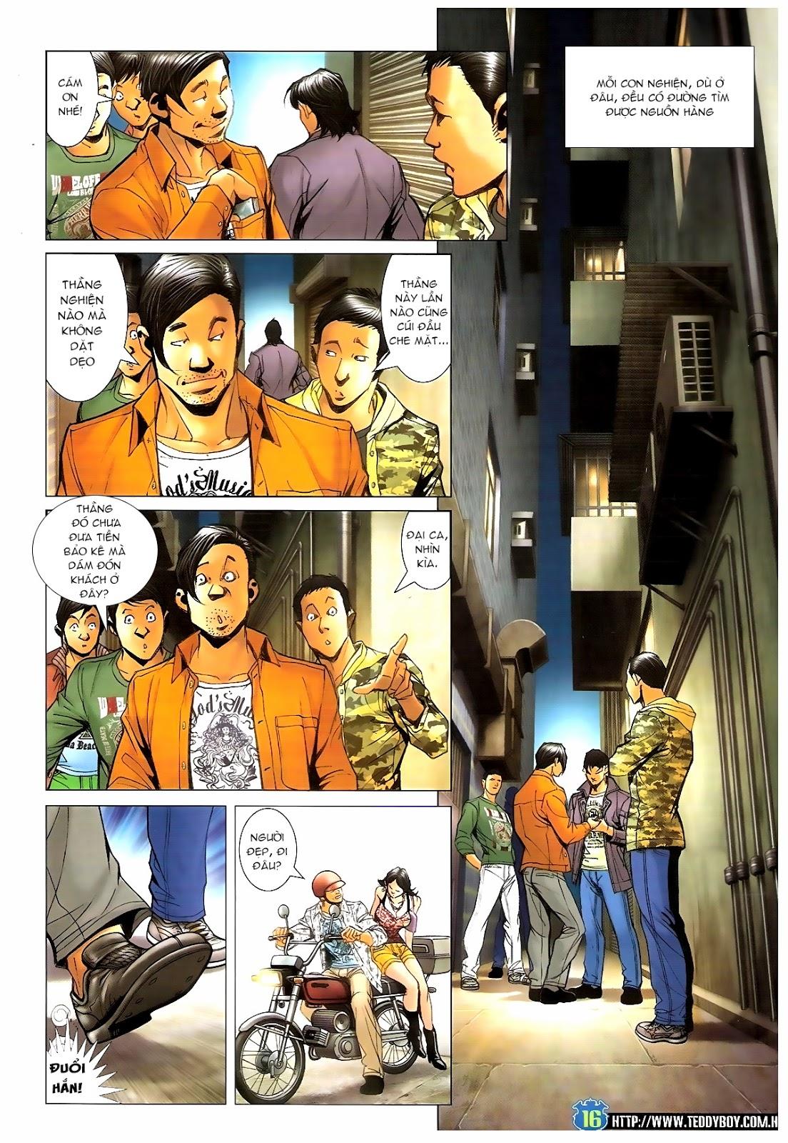 Người Trong Giang Hồ - Chapter 1390: Tự tìm đường chết - Pic 15