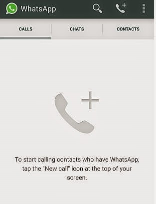 Whats app Calling on Gettrickz.com