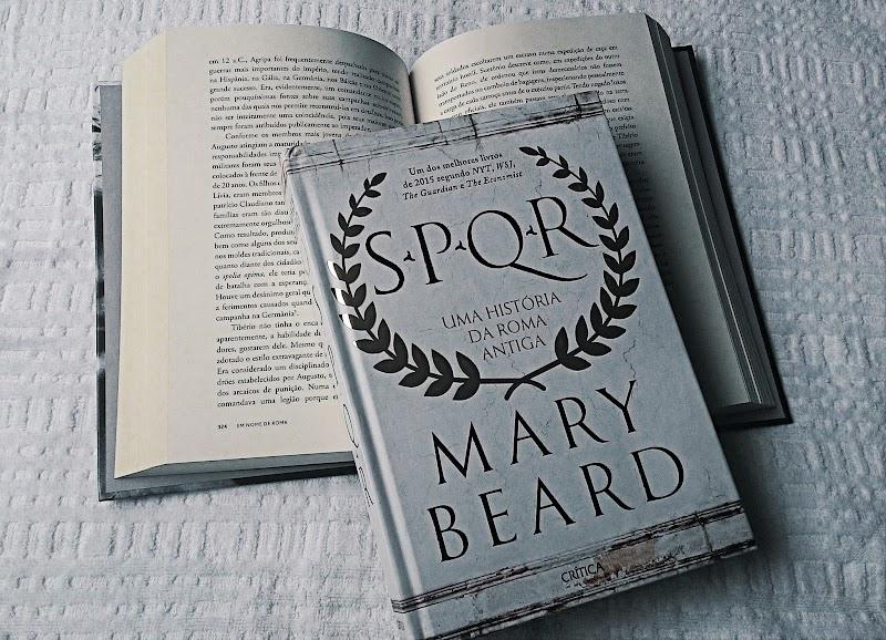 [RESENHA #377] SPQR - MARY BEARD