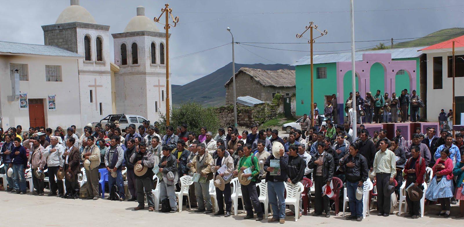 CHAMACA: este lunes 20 inician huelga indefinida en contra de la comuna distrital