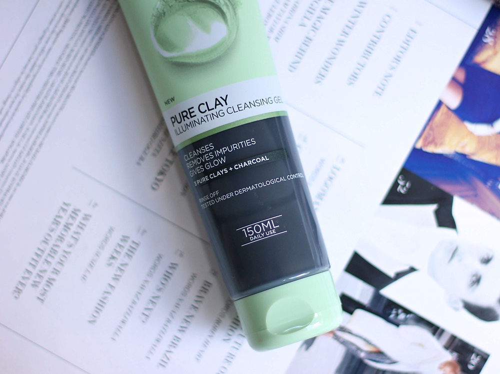loreal pure clay illuminating cleansing gel recenzija