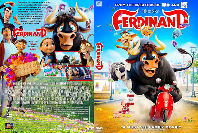Ferdinand DVD Cover
