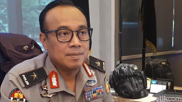 Polisi Tepis NU Soal Aparat Kecolongan Bendera HTI di Hari Santri