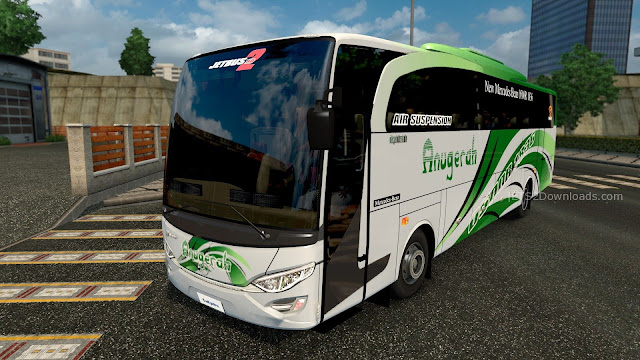 Download Mod Ets2 bus Indonesia JB2HD Jetbus 2 HD