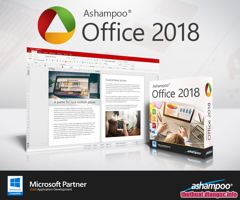 Download Ashampoo Office 2018 Rev 944.1213 Full Cr@ck