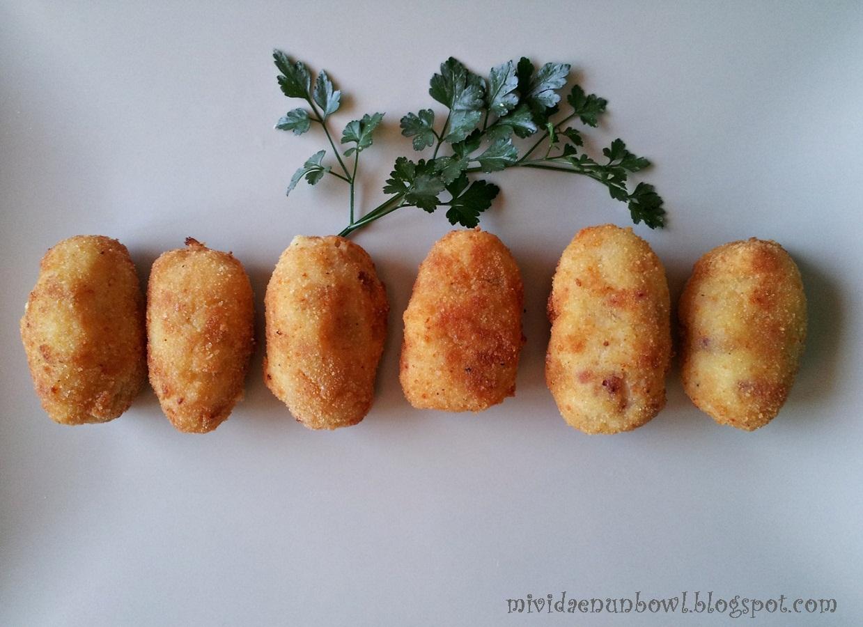 Mi vida en un bowl: the Spanish Croquetas recipe  Mi vida en un b...