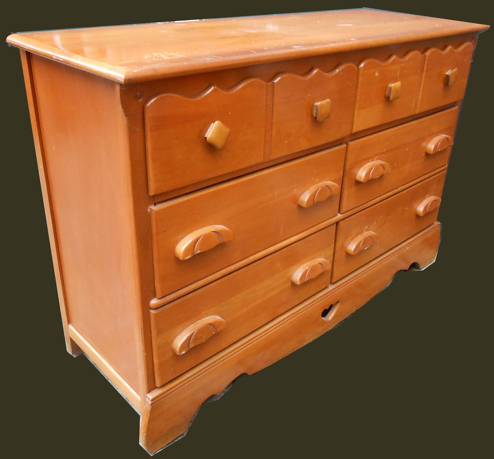 Uhuru Furniture Amp Collectibles Rock Maple Dresser Sold