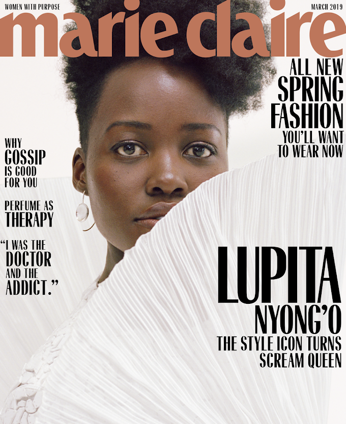 Lupita Nyong'o is a Style Icon on the Cover of Marie Claire's March 2019 Issue