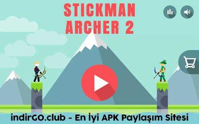 stickman archer 2 hile apk