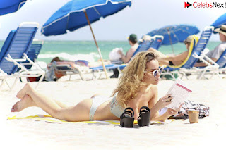 Lisa Opie  in sizzling bikini lovely  sizzling CELEBRITY.CO Exclusive Celebrity Pics 005
