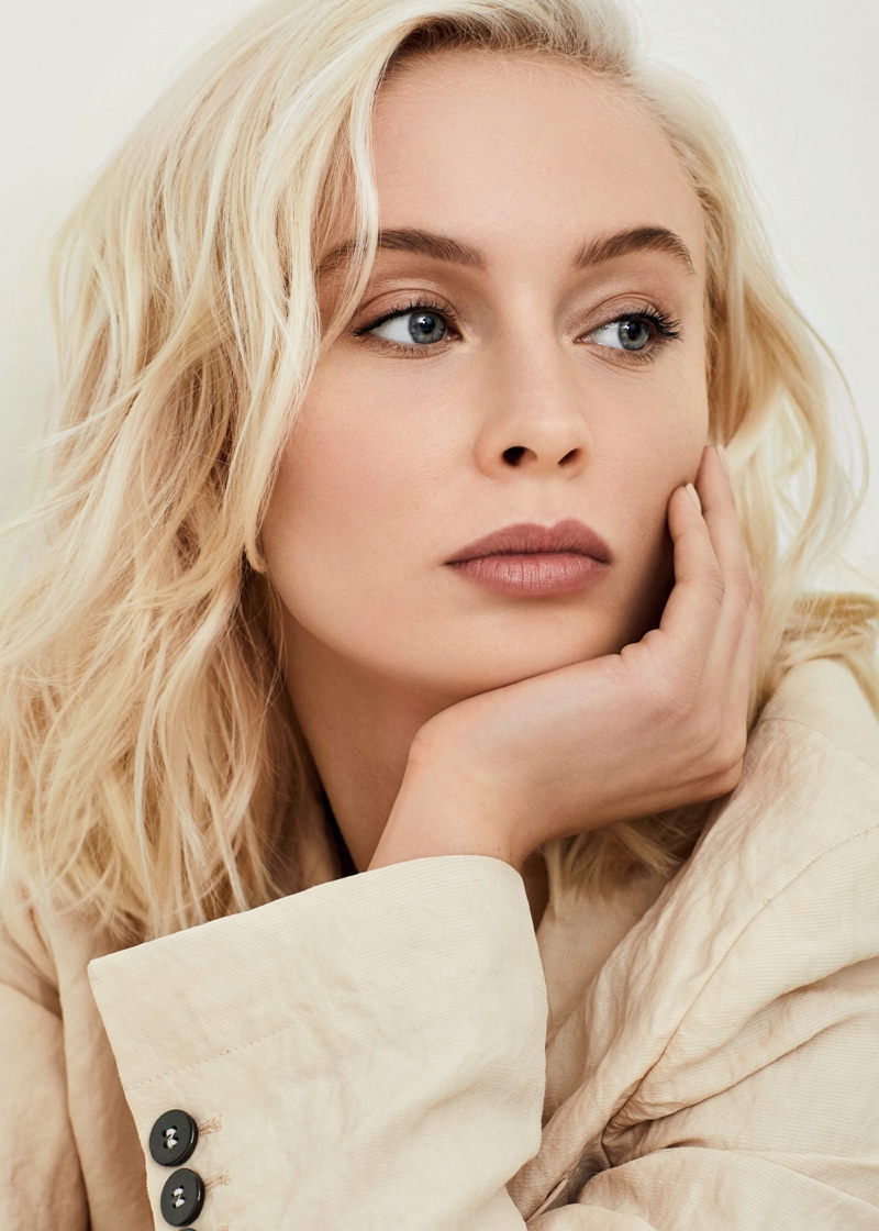 Zara Larsson poses in fashionable pieces for Grazia Italy