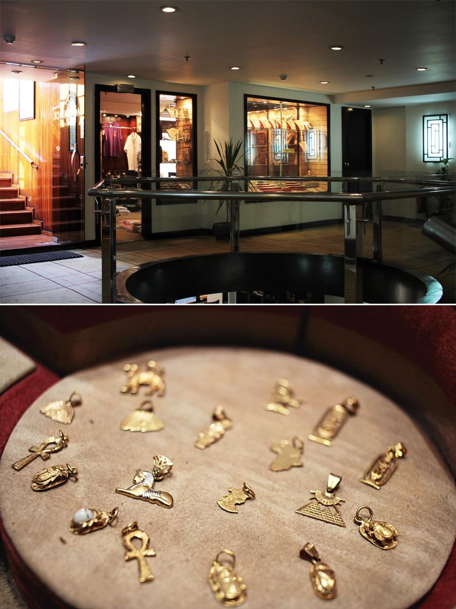 bazaar shopping schmuck gold ägypten