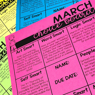 march-choice-board-differentiation