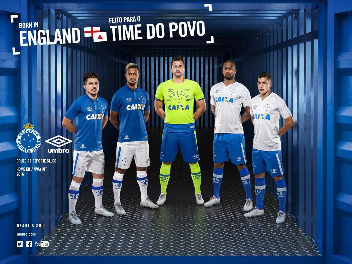 Umbro Cruzeiro 2016 17 Kits Released Footy Headlines