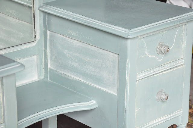 Chalk Painted Furniture Transformation: DIY Vanity Makeover by Serendipity Refined