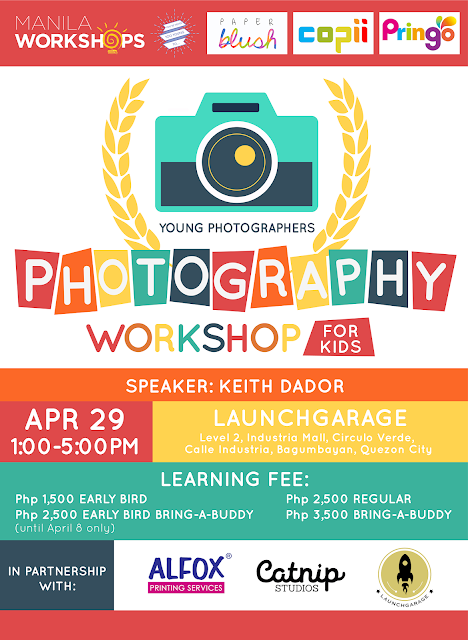 Photography Workshop for the Kids