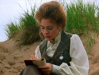 Anne Shirley writing