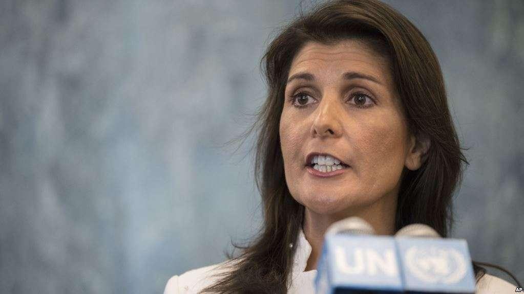 Haley habló sobre la designación en NNUU de la expresidenta chilena / AP