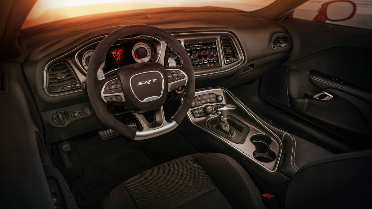 Dodge Demon Interior 2018