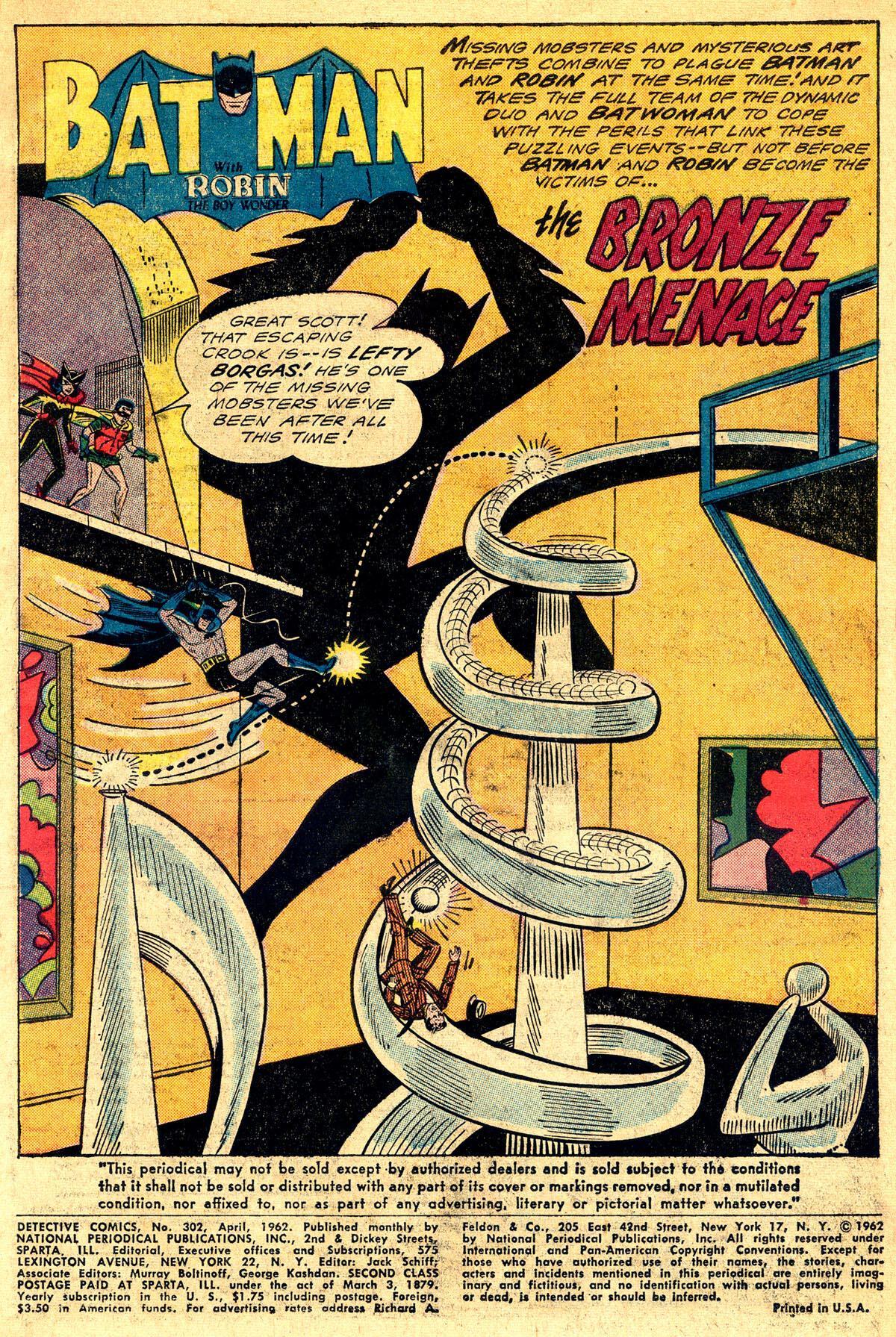 Detective Comics (1937) 302 Page 2