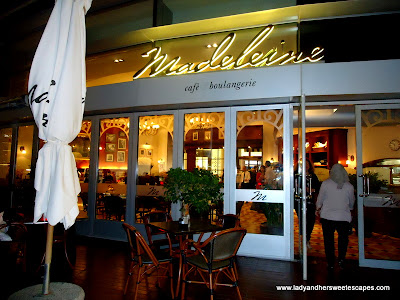 Madeleine Cafe Terrace