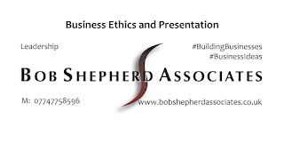 Supporting Image for LinkedIn Post | Business Ethics and Presentation