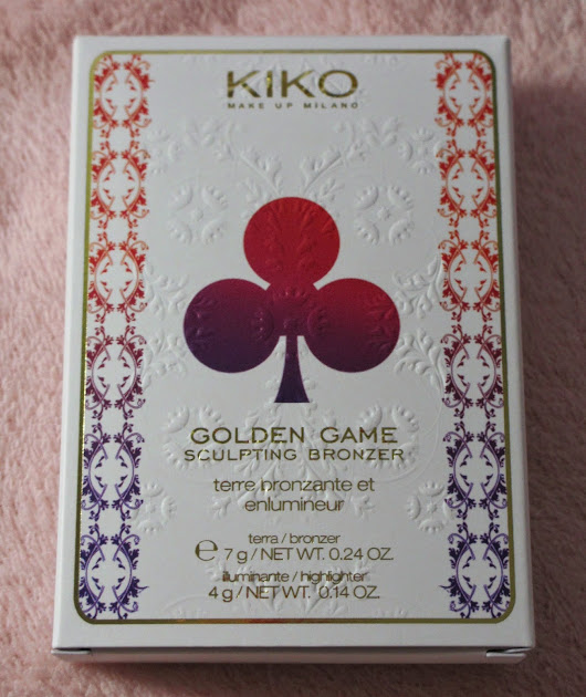 KIKO - Golden Game Sculpting Bronzer kiko RADIANT HONEY 01