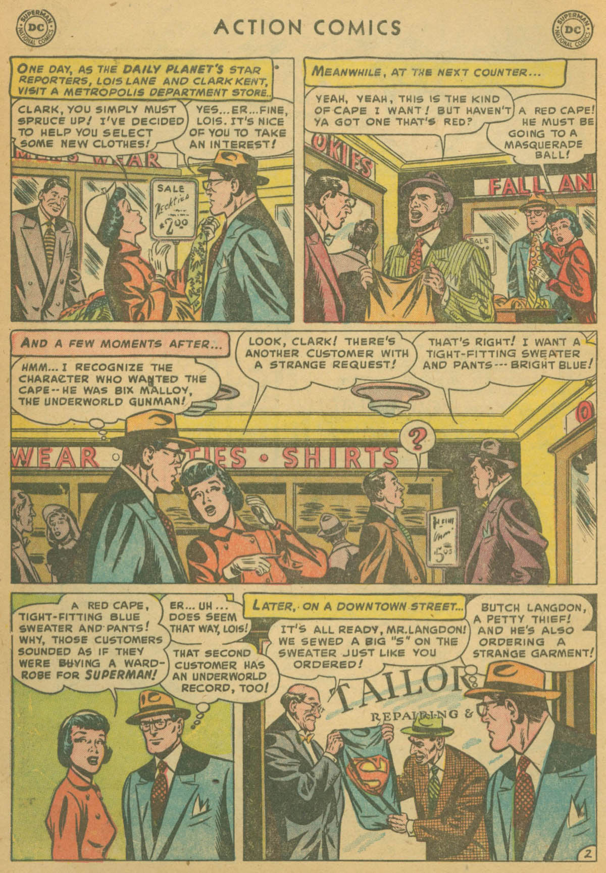 Read online Action Comics (1938) comic -  Issue #178 - 4