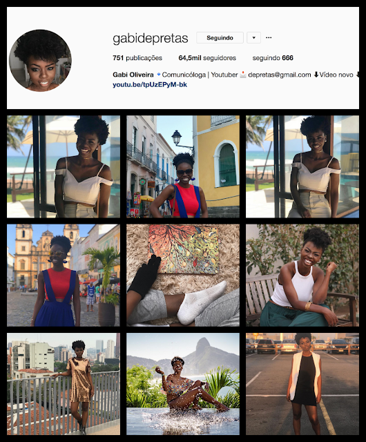Montagem instagram tumblr girl: Gabi Oliveira