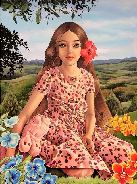 Happy Julia by Melissa Mejía Rizik