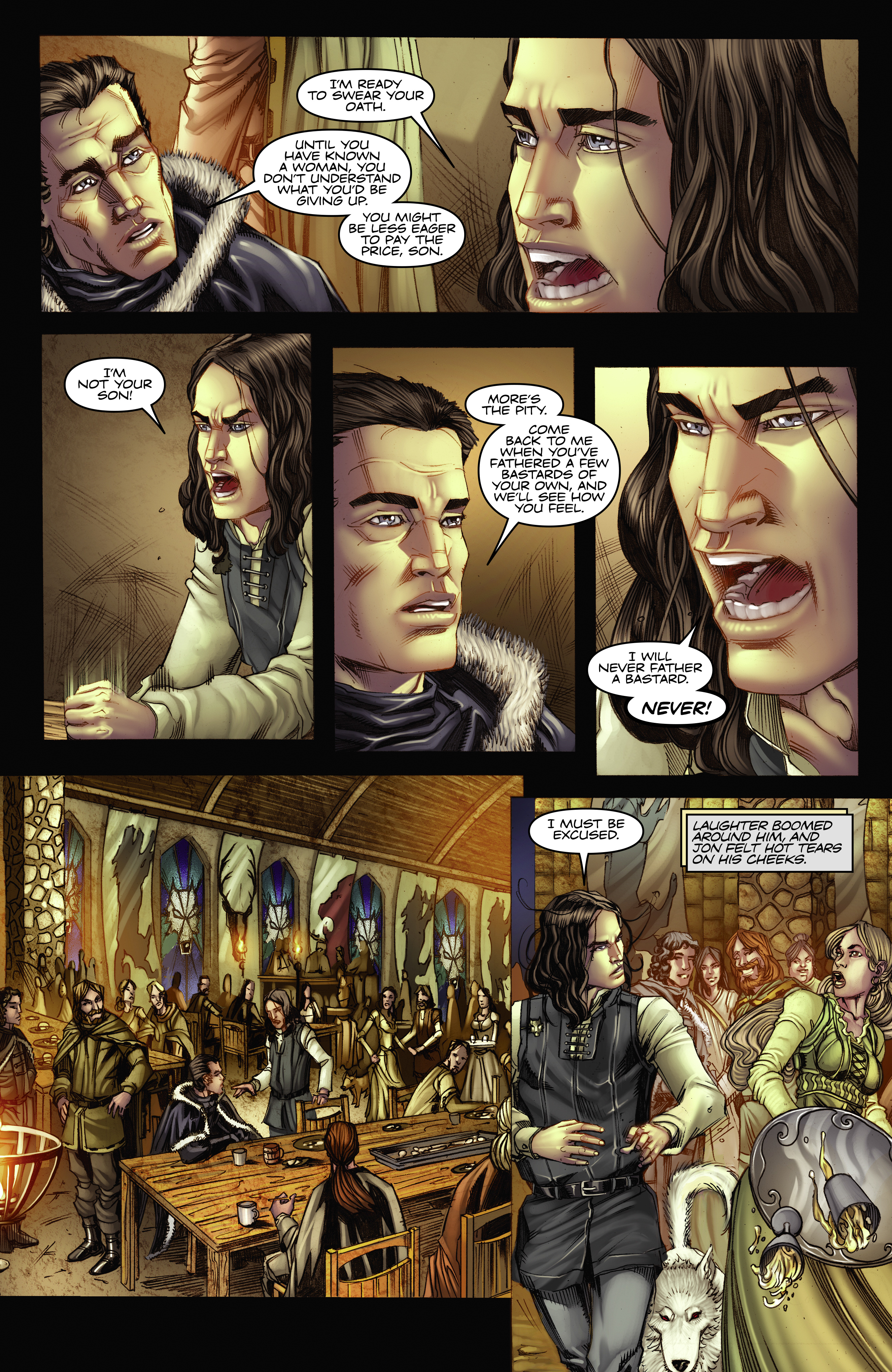 Read online A Game Of Thrones comic -  Issue #2 - 16
