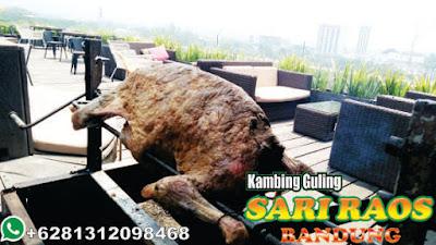 Live Show Bakar Kambing Guling di Ciwidey Bandung