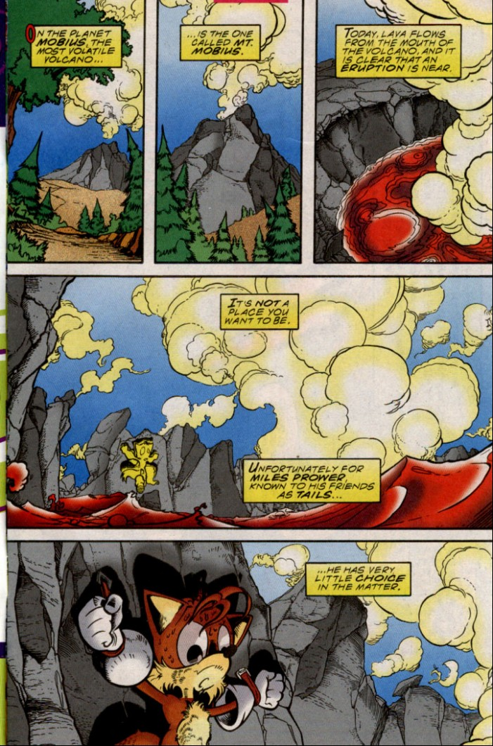 Read online Sonic The Hedgehog comic -  Issue #87 - 2