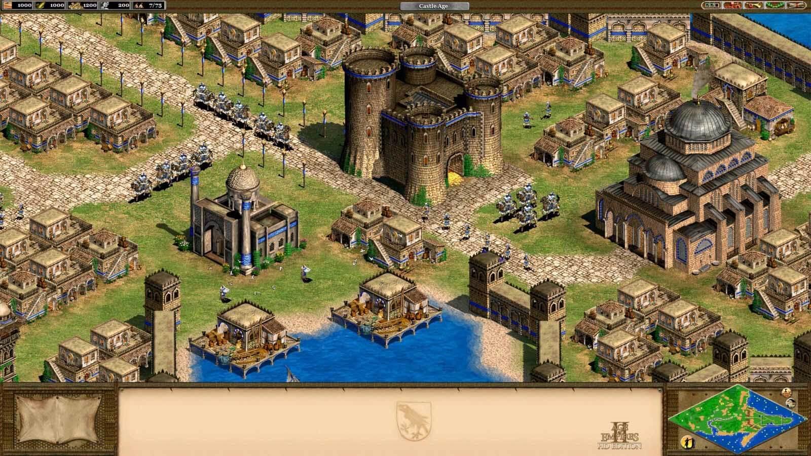 تحميل لعبة Age Of Empires 2 مضغوطة برابط واحد مباشر كاملة مجانا