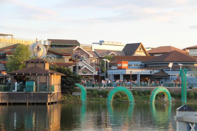Disney Springs, Orlando Florida lasten kanssa