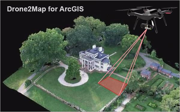 Drone2map for arcgis est disponible en version beta arcorama summit qui a lieu cette semaine palm springs esri a annonc la disponibilit en version beta dune nouvelle solution nomme drone2map for arcgis sciox Gallery