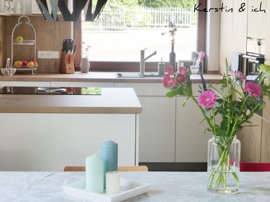 Küche vorher nachher offene Küche