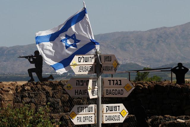 AS Siap Akui Kedaulatan Israel Atas Dataran Tinggi Golan, Suriah: Trump Pengkhianat Hukum Internasional