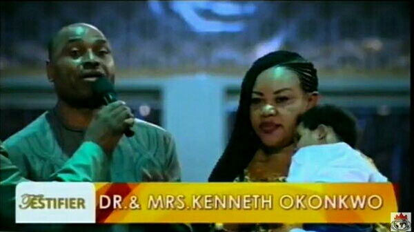 Kenneth Okonkwo shares testimony of childbirth after 9 years at Shiloh 2016