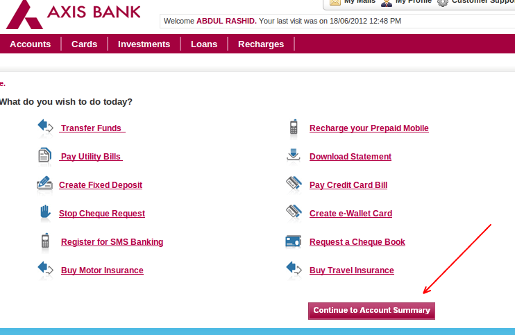 Bank Car Loan Login