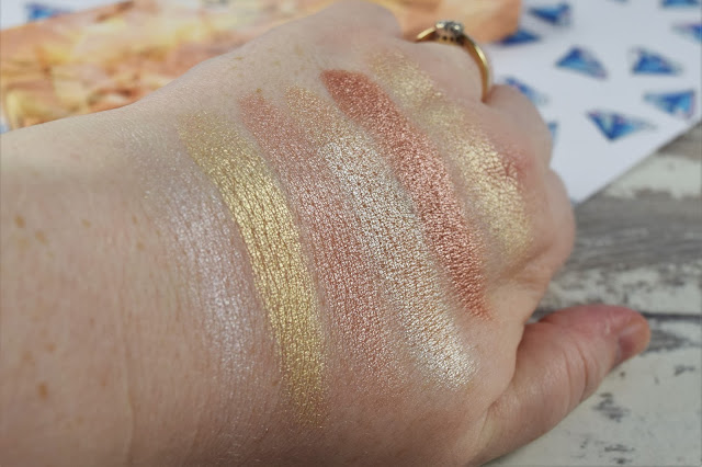 Sleek MakeUP i-Lust Diamonds In The Rough Palette Swatches