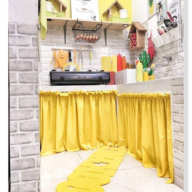 Gambar Desain Dapur Memanjang Minimalis Untuk rumah Sempit ...